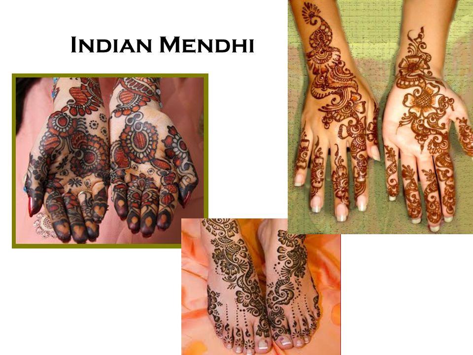 Indian Mendhi