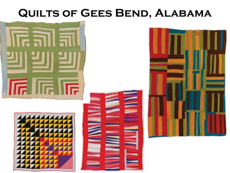 Quilts of Gees Bend, Alabama