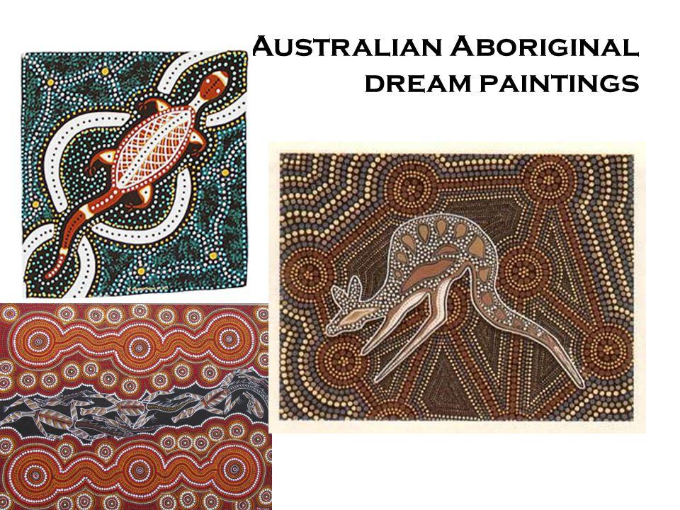 Australian Aboriginal dream paintings