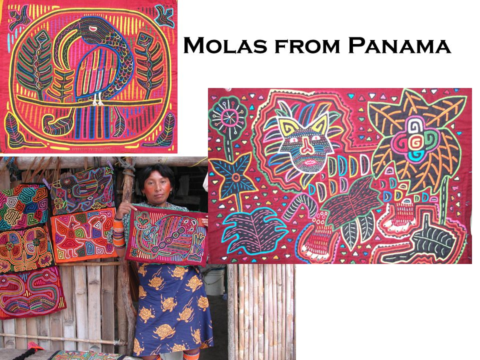 Molas from Panama