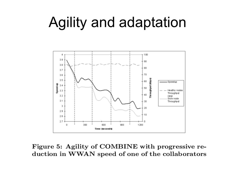 Agility and adaptation
