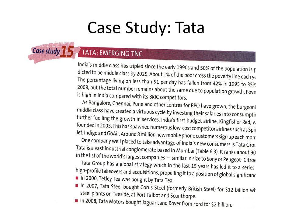 Case Study: Tata