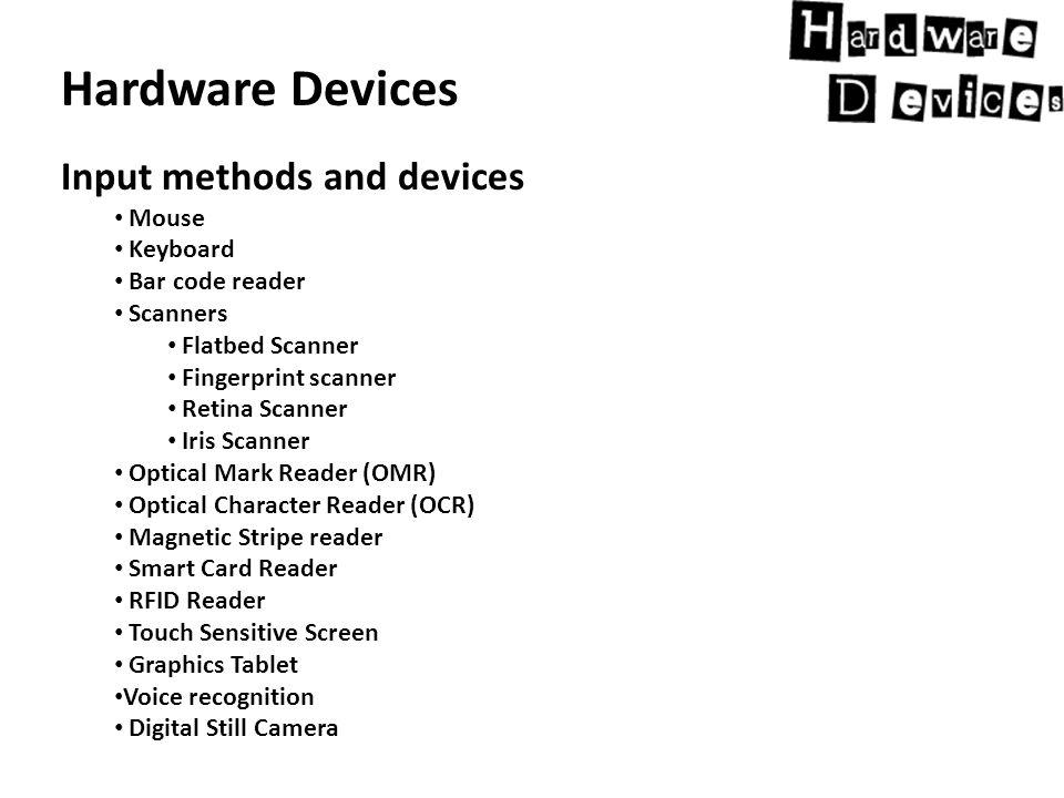 Hardware Devices Impact Printer.