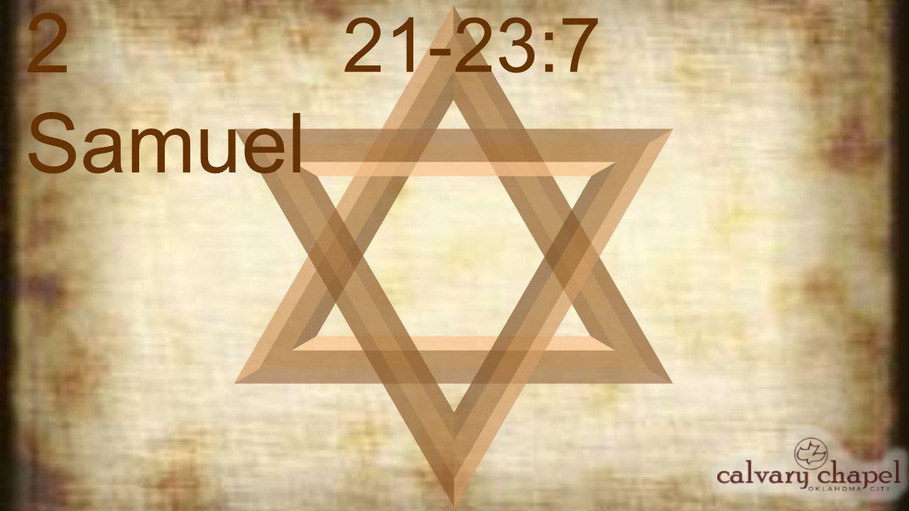2 Samuel 21-23:7 Rock ~ sela ; strength ~ tsur (both mean rock)