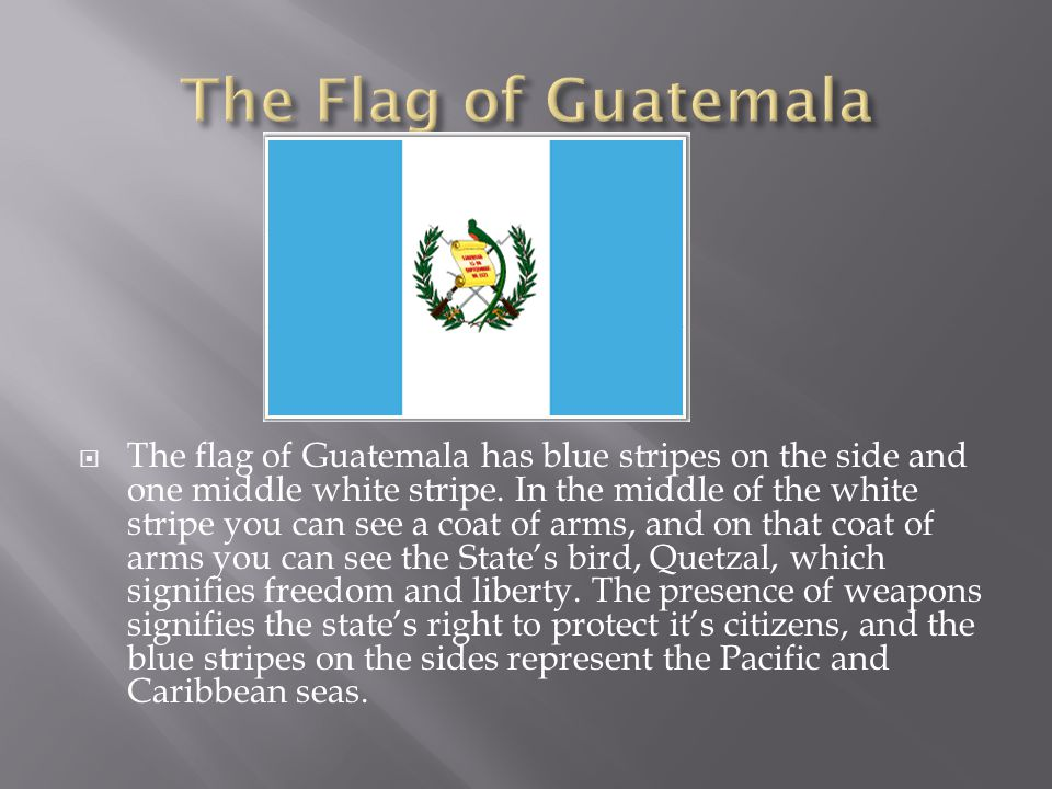  On September 15 th, 1821, Guatemala gained it's independence from Spain.