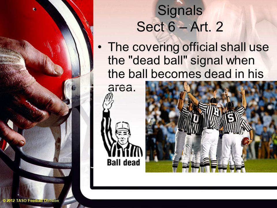 Signals Sect 6 – Art.