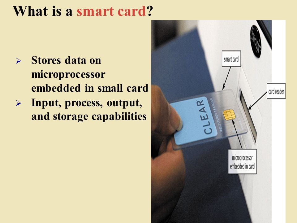 What is a smart card.