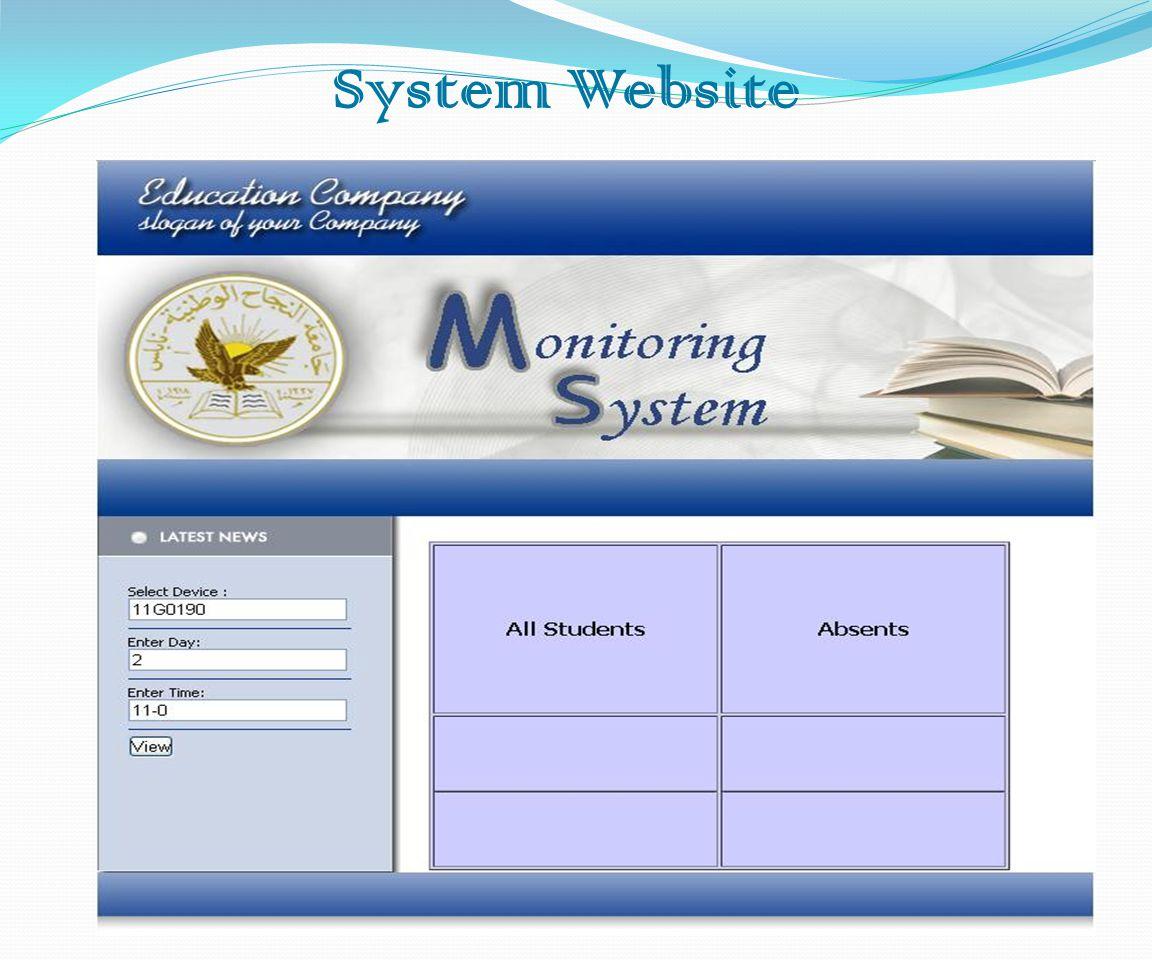 System Website