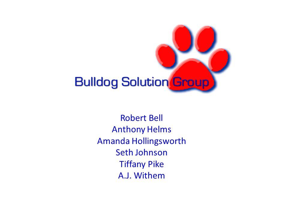 Robert Bell Anthony Helms Amanda Hollingsworth Seth Johnson Tiffany Pike A.J. Withem