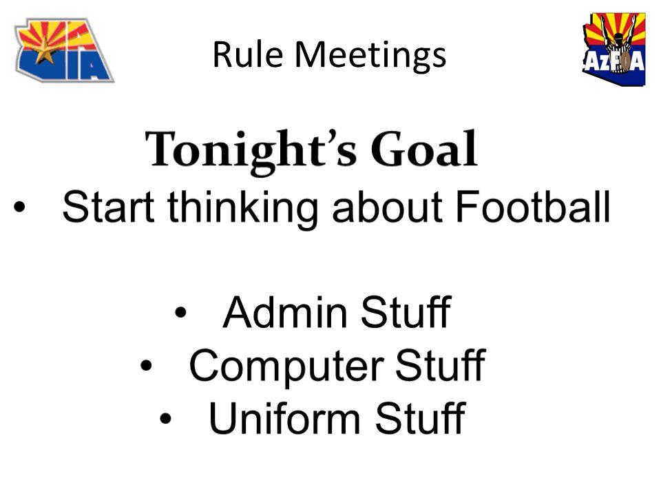 Rule Meetings