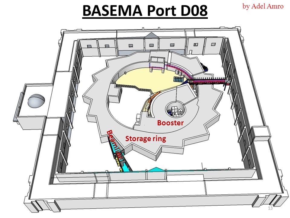 BASEMA Port D08 Booster Storage ring Beamline 13 by Adel Amro