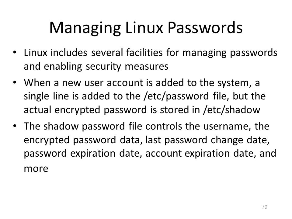 Some Linux Specific Authentication Strategies