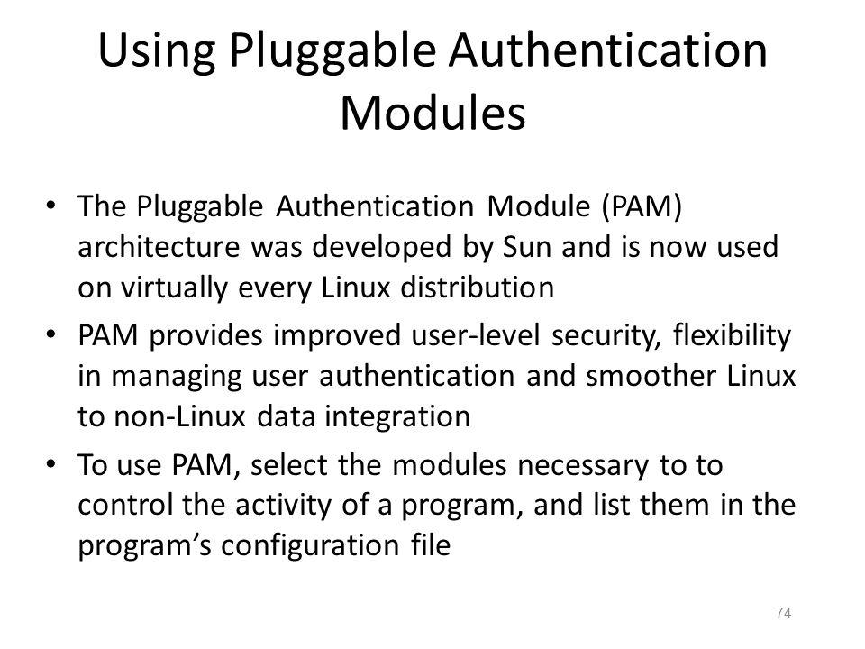 73 Managing Linux Passwords