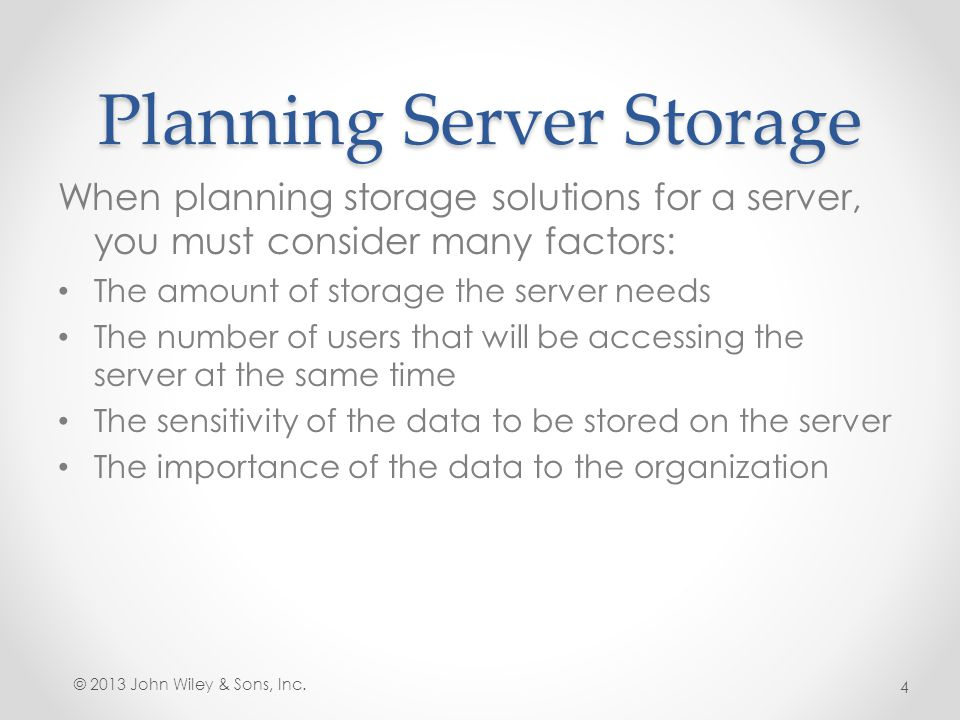 How Many Servers Do I Need.When is one big file server preferable to several smaller ones.