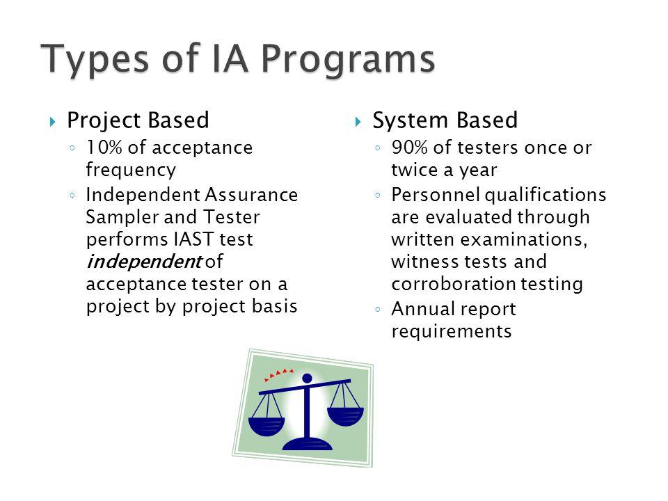  Qualification of Personnel  Laboratory Accreditation  Equipment Calibration  Proficiency Testing  Corroboration Testing  Dispute Resolution