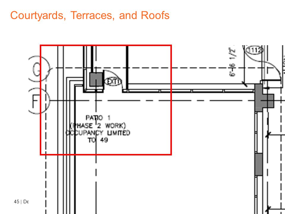 44   Decoded 3 – Egress and Life Safety Courtyards, Terraces, and Roofs