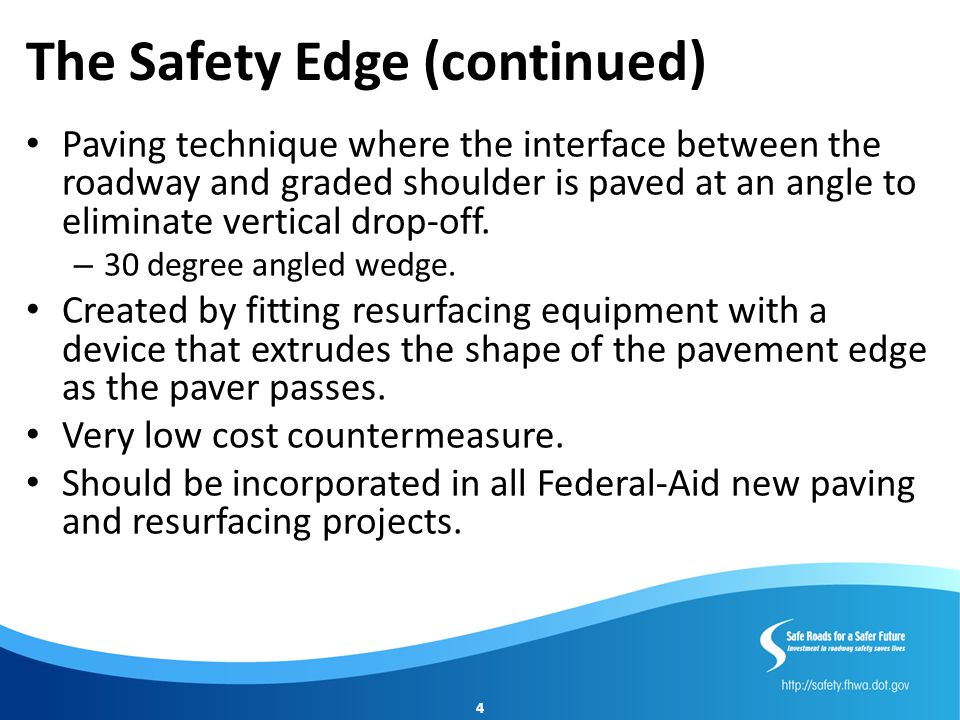 Median and Pedestrian Refuge Areas (continued) Low cost countermeasure.