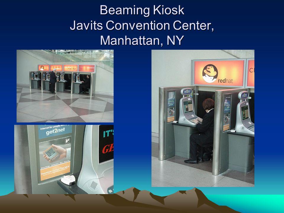 Beaming Kiosk Javits Convention Center, Manhattan, NY