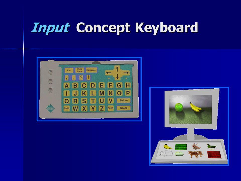 Input Concept Keyboard
