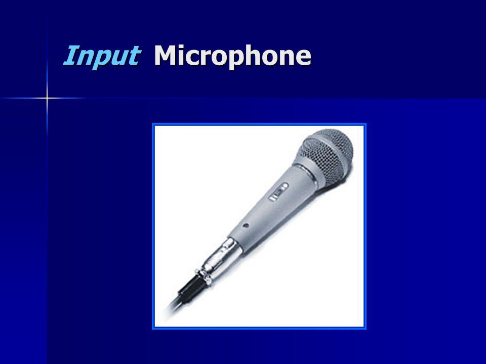 Input Microphone