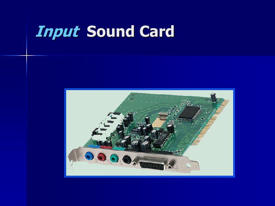 Input Sound Card