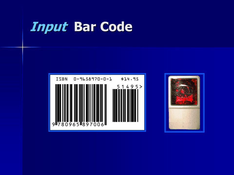 Input Bar Code