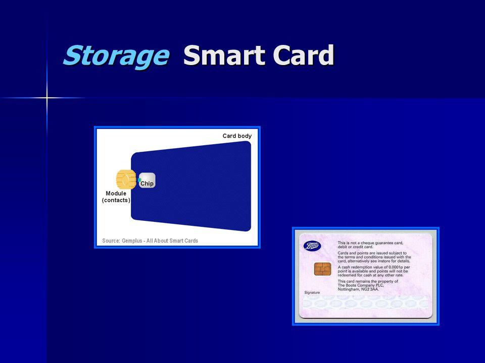 Storage Smart Card
