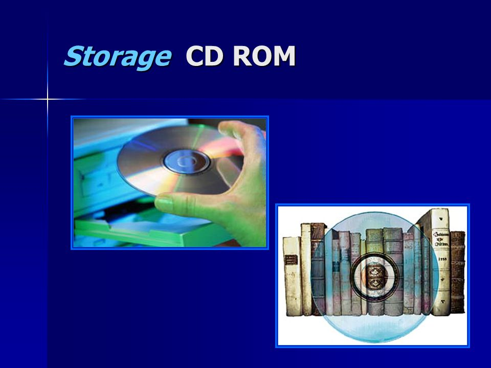 Storage CD ROM