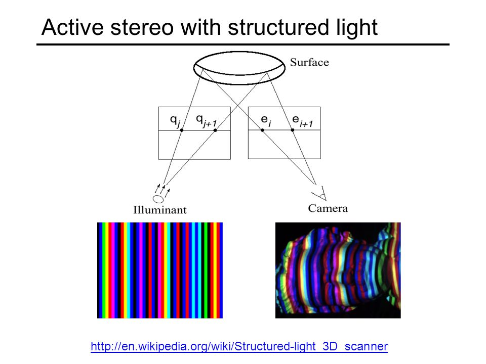 Active stereo with structured light http://en.wikipedia.org/wiki/Structured-light_3D_scanner