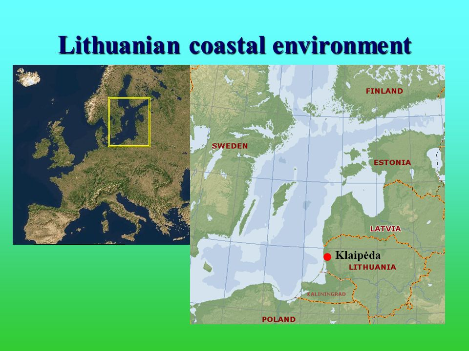 Lithuanian coastal environment Klaipėda