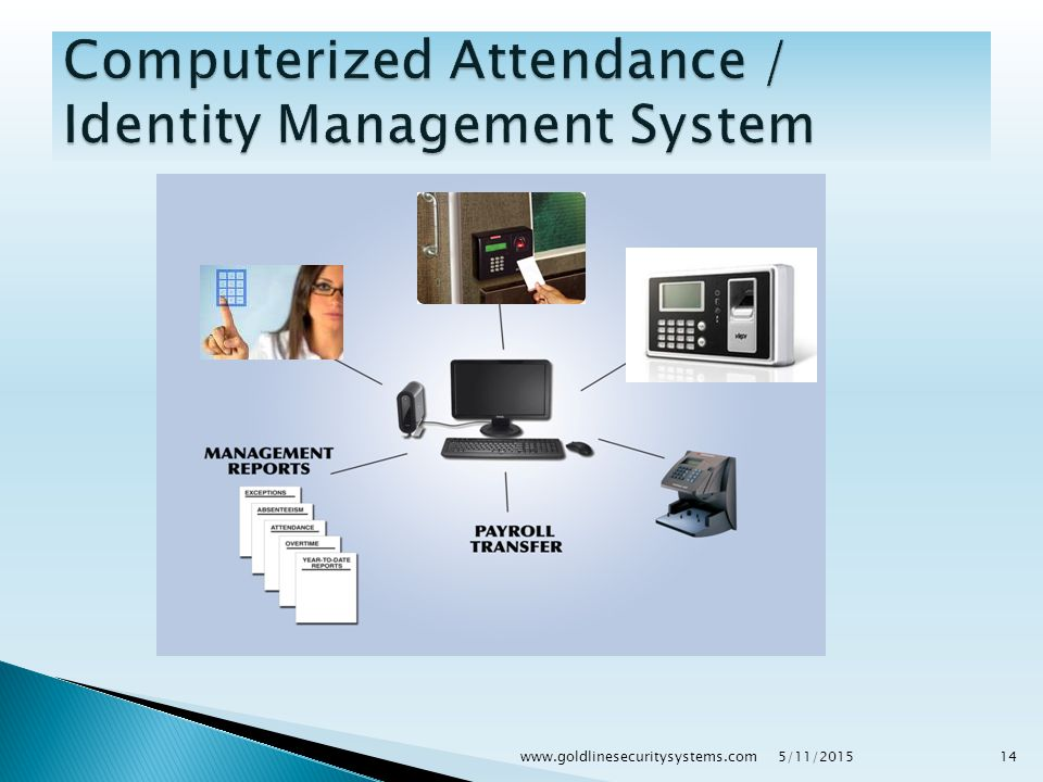 Attendance Machine Biometric Attendance Device will include the following features & components :  RFID Reader- Access Card Reader  Biometric Reader- Fingerprint Reader  TCP/IP (LAN) interface- for device connectivity with computer & software.