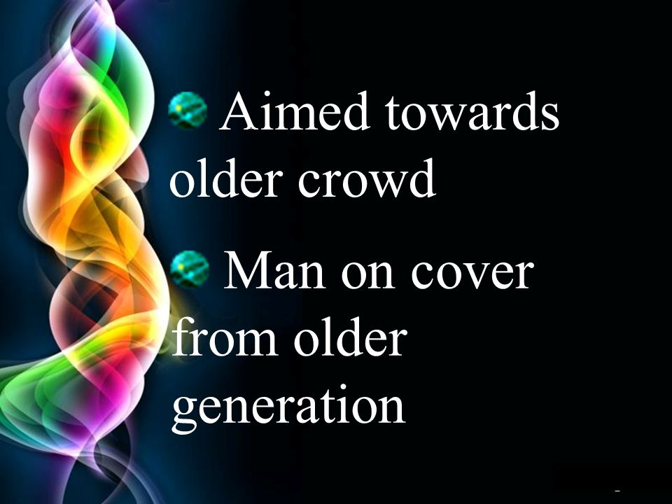 Free Powerpoint Templates Page 11 Aimed towards older crowd * Man on cover from older generation