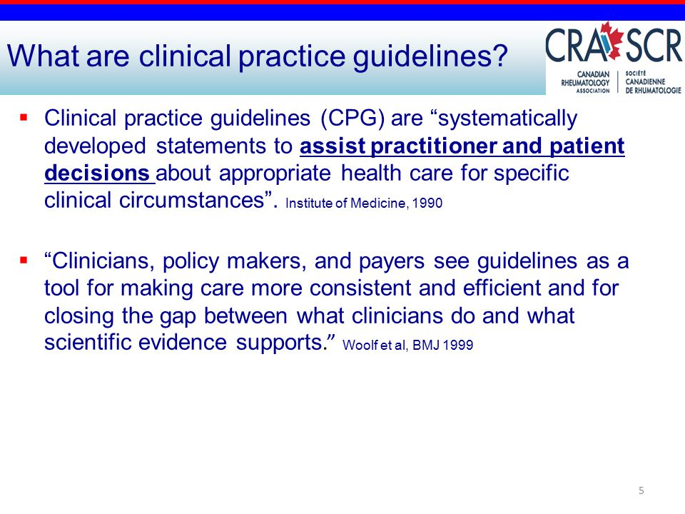  Clinical practice guidelines (CPG) are systematically developed statements to assist practitioner and patient decisions about appropriate health care for specific clinical circumstances .