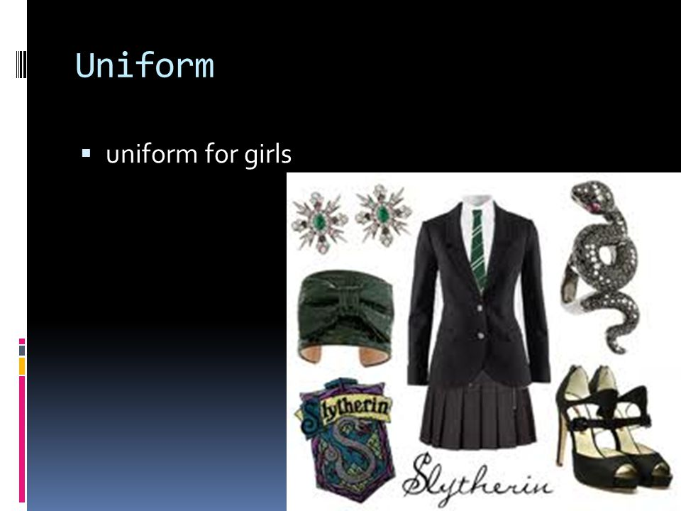 Uniform  uniform for girls