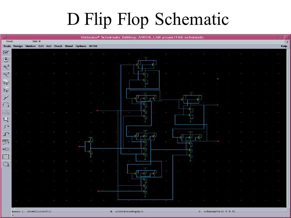 D Flip Flop Schematic