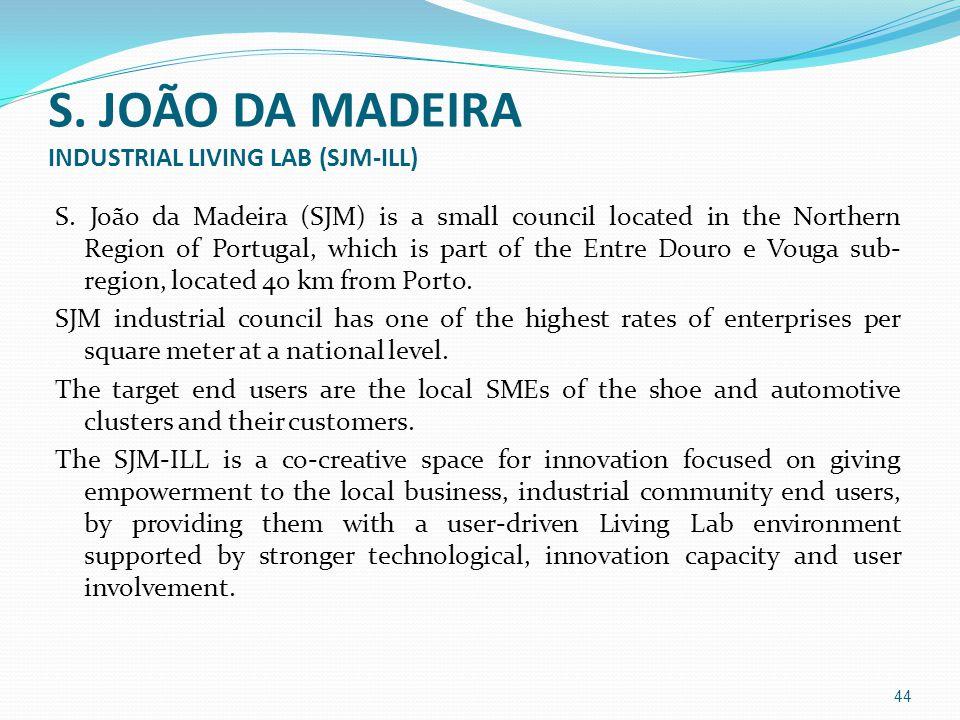 S. JOÃO DA MADEIRA INDUSTRIAL LIVING LAB (SJM-ILL) S.