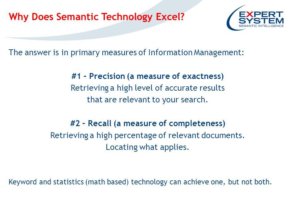 IPOTESI INGOMBRO EVENTUALE SCREENSHOT Why Does Semantic Technology Excel.