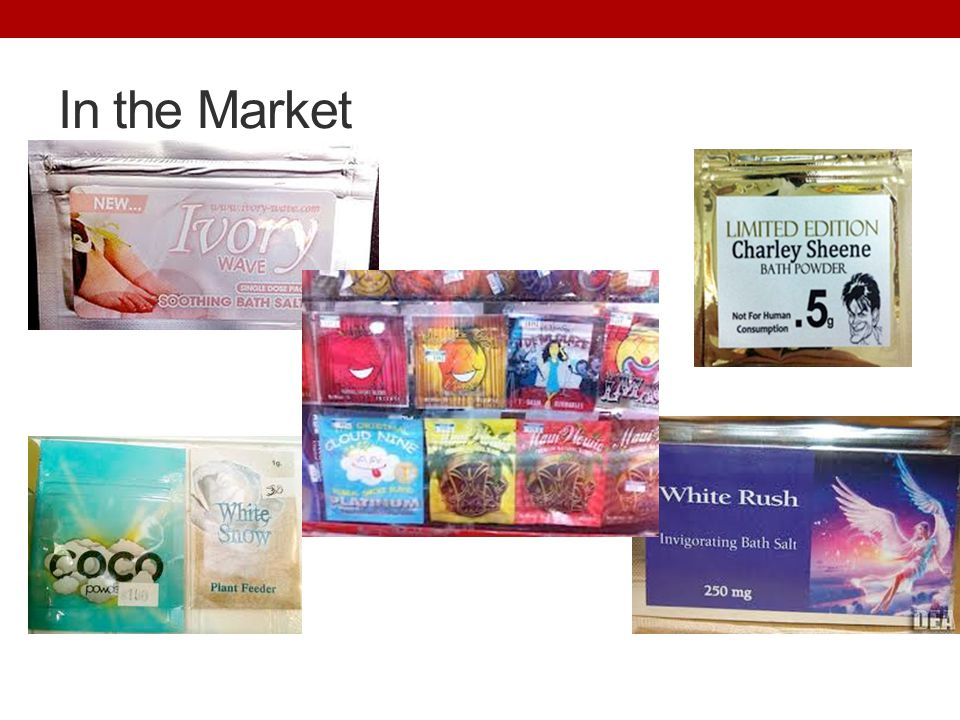 In the Market http://www.whitehouse.gov/ondcp/ondcp-fact-sheets/synthetic-drugs-k2-spice-bath-salts. Accessed 7 Dec 2012.
