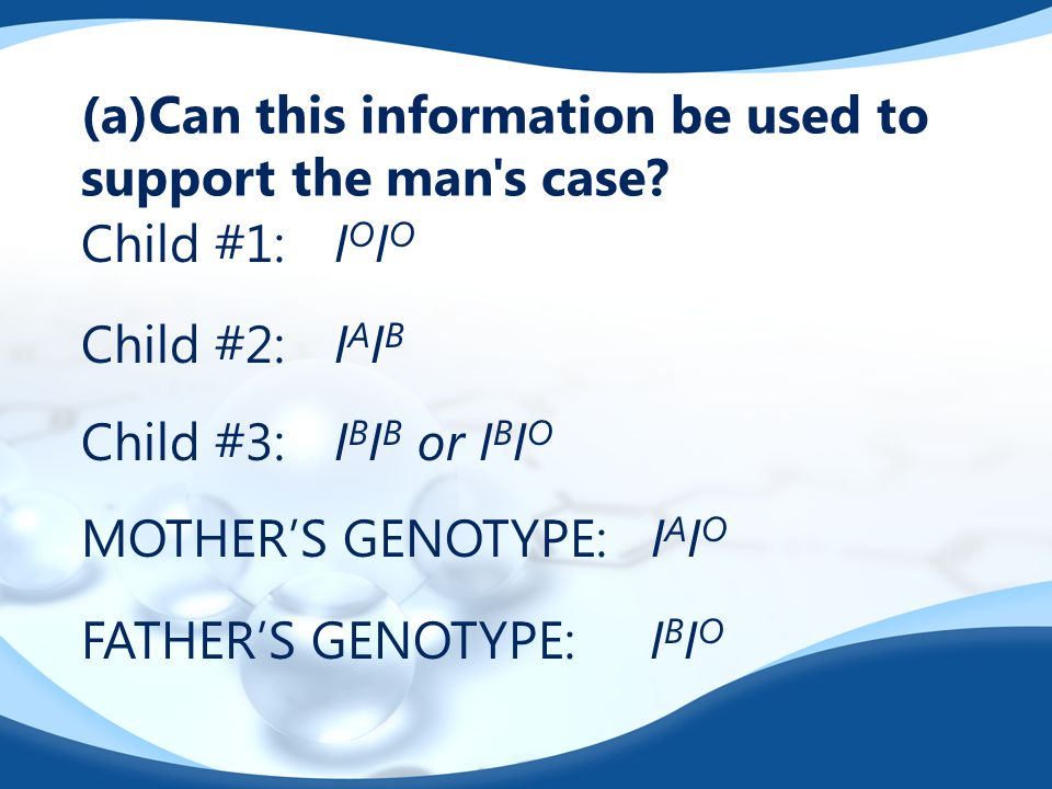 (a)Can this information be used to support the man s case.