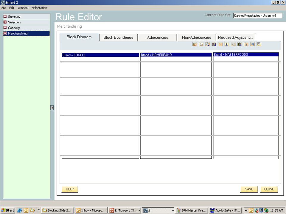 Copyright © IRI, 2005. Confidential and proprietary. Rule Editor