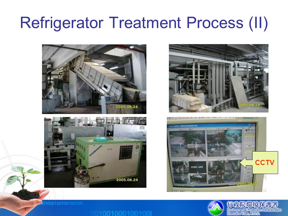 Refrigerator Treatment Process (II) CCTV