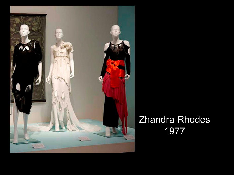 Zhandra Rhodes 1977