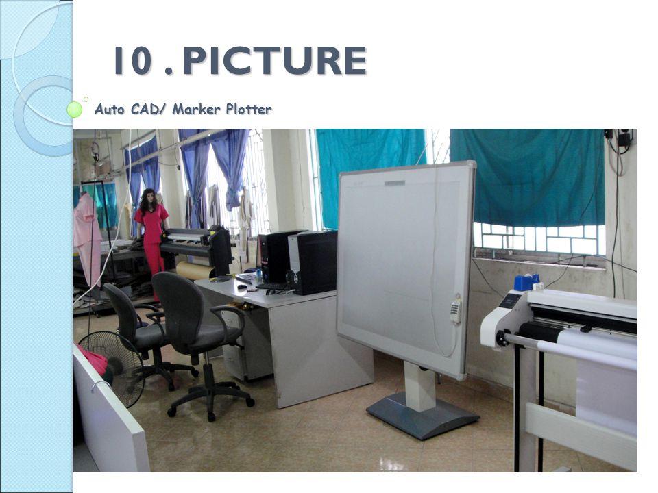 Auto CAD/ Marker Plotter 10. PICTURE