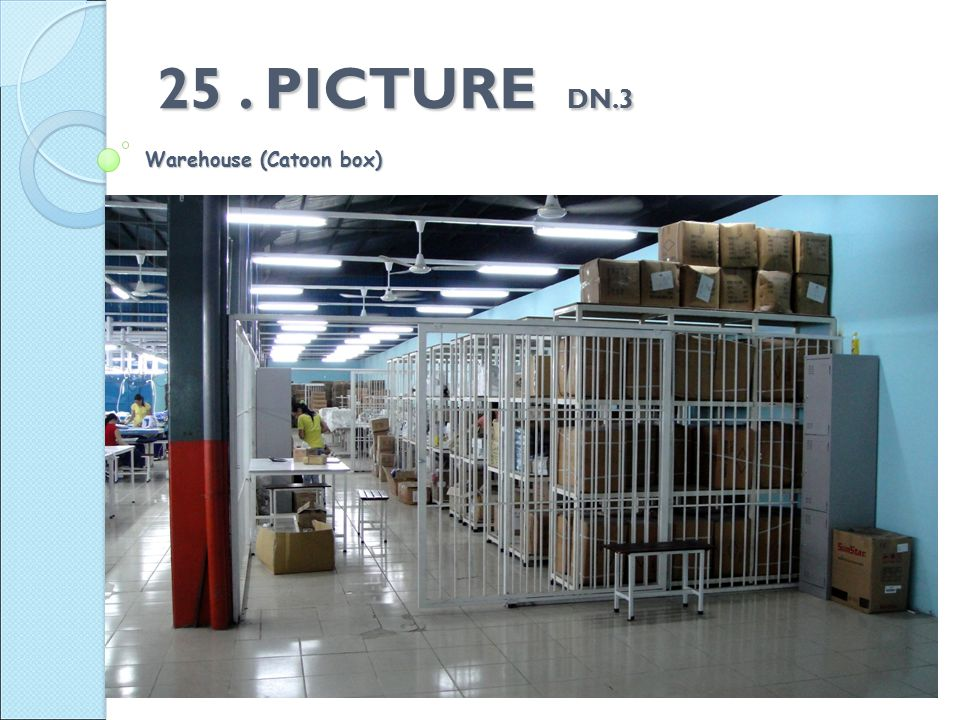 25. PICTURE DN.3 Warehouse (Catoon box)