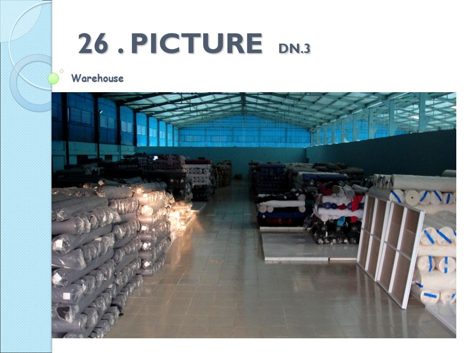 26. PICTURE DN.3 Warehouse
