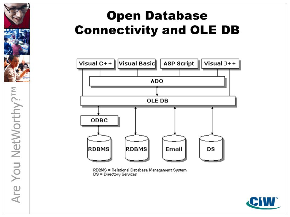 Open Database Connectivity and OLE DB