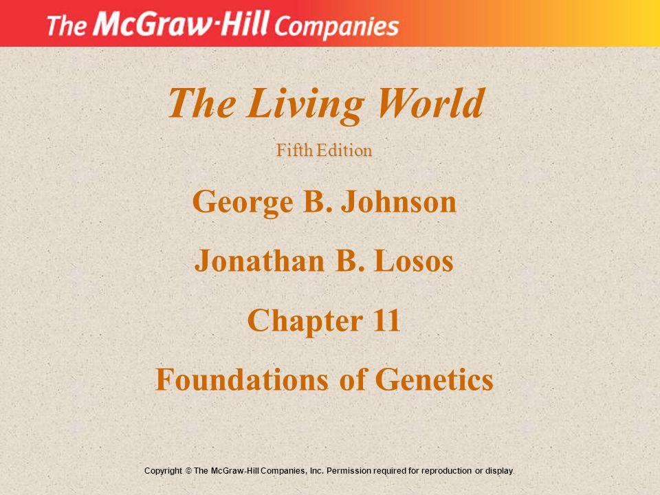 The Living World Fifth Edition George B.Johnson Jonathan B.