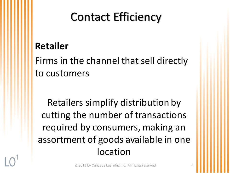 9 Exhibit 14.1 How Marketing Channels Reduce the Number of Required Transactions