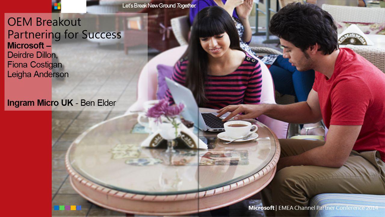 Microsoft | EMEA Channel Partner Conference 2014 Channel Incentives Digital Commerce & Campaign Network Demo www.msdccn.com