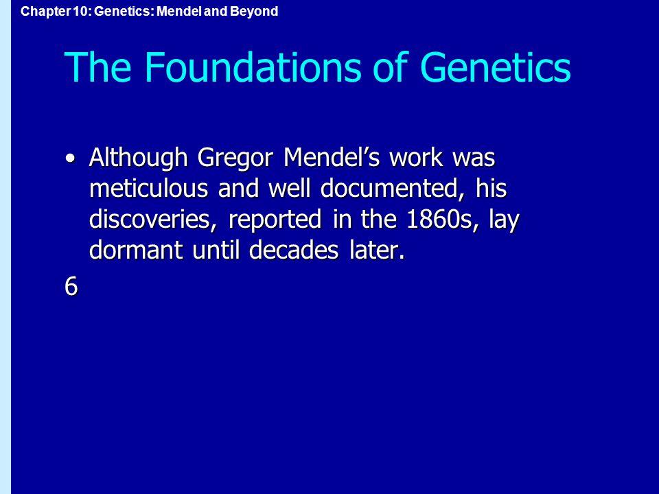 Chapter 10: Genetics: Mendel and Beyond Figure 10.5 figure 10-05.jpg